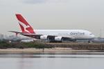 なないろさんが、シドニー国際空港で撮影したカンタス航空 A380-842の航空フォト(写真)