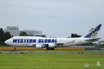とらとらさんが、成田国際空港で撮影したウエスタン・グローバル・エアラインズ 747-446(BCF)の航空フォト(写真)