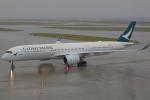 じゃりんこさんが、中部国際空港で撮影したキャセイパシフィック航空 A350-941XWBの航空フォト(写真)