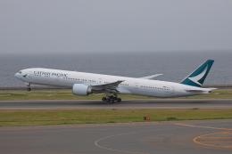 じゃりんこさんが、中部国際空港で撮影したキャセイパシフィック航空 777-367/ERの航空フォト(写真)