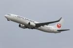 こだしさんが、関西国際空港で撮影した日本航空 737-846の航空フォト(飛行機 写真・画像)
