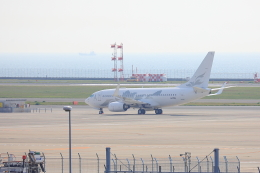 じゃりんこさんが、中部国際空港で撮影したグローバル・ジェット・オーストリア 737-7HE BBJの航空フォト(写真)