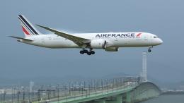 ねぎぬきさんが、関西国際空港で撮影したエールフランス航空 787-9の航空フォト(写真)