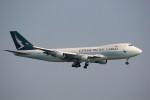 トールさんが、香港国際空港で撮影したキャセイパシフィック航空 747-467F/ER/SCDの航空フォト(写真)