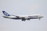 Musondaさんが、台湾桃園国際空港で撮影した日本貨物航空 747-8KZF/SCDの航空フォト(写真)