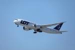 garrettさんが、ロサンゼルス国際空港で撮影したLOTポーランド航空 787-8 Dreamlinerの航空フォト(写真)