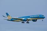rail_airlineさんが、羽田空港で撮影したベトナム航空 A350-941XWBの航空フォト(写真)