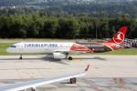 TRAVAIRさんが、チューリッヒ空港で撮影したターキッシュ・エアラインズ A321-231の航空フォト(写真)