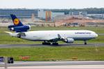 TRAVAIRさんが、フランクフルト国際空港で撮影したルフトハンザ・カーゴ MD-11Fの航空フォト(写真)