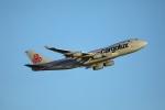 garrettさんが、ロサンゼルス国際空港で撮影したカーゴルクス 747-4R7F/SCDの航空フォト(写真)