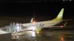 JA54AN推しさんが、神戸空港で撮影したソラシド エア 737-86Nの航空フォト(写真)