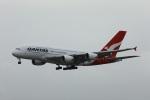 garrettさんが、ロサンゼルス国際空港で撮影したカンタス航空 A380-842の航空フォト(写真)