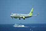 kumagorouさんが、那覇空港で撮影したジンエアー 737-8Q8の航空フォト(写真)