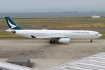 rjジジィさんが、中部国際空港で撮影したキャセイパシフィック航空 A330-343Xの航空フォト(写真)