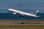 ☆shinさんが、中部国際空港で撮影したキャセイパシフィック航空 777-267の航空フォト(写真)