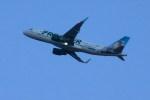 トシさんさんが、マッカラン国際空港で撮影したフロンティア航空 A320-214の航空フォト(写真)
