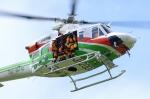 SAMBAR-2463さんが、群馬県渋川市(場外)で撮影した群馬県防災航空隊 412EPの航空フォト(写真)