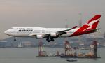 Asamaさんが、香港国際空港で撮影したカンタス航空 747-438/ERの航空フォト(写真)