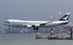 Asamaさんが、香港国際空港で撮影したキャセイパシフィック航空 747-867F/SCDの航空フォト(写真)