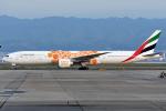 sachiさんが、関西国際空港で撮影したエミレーツ航空 777-36N/ERの航空フォト(写真)