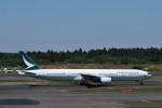 らむえあたーびんさんが、成田国際空港で撮影したキャセイパシフィック航空 777-367の航空フォト(写真)