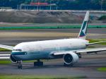 万華鏡AIRLINESさんが、羽田空港で撮影したキャセイパシフィック航空 777-367/ERの航空フォト(写真)
