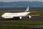 Hide.Oさんが、関西国際空港で撮影したキャセイパシフィック航空 747-467F/ER/SCDの航空フォト(写真)
