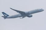 気分屋さんが、成田国際空港で撮影したキャセイパシフィック航空 A350-941XWBの航空フォト(写真)