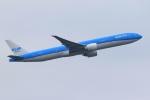 気分屋さんが、成田国際空港で撮影したKLMオランダ航空 777-306/ERの航空フォト(写真)