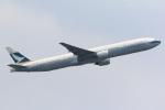 気分屋さんが、成田国際空港で撮影したキャセイパシフィック航空 777-367の航空フォト(写真)