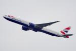 ちゃぽんさんが、羽田空港で撮影したブリティッシュ・エアウェイズ 777-336/ERの航空フォト(飛行機 写真・画像)