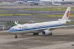 mameshibaさんが、羽田空港で撮影した中国国際航空 A330-343Xの航空フォト(写真)