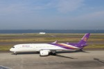 micchanさんが、中部国際空港で撮影したタイ国際航空 A350-941XWBの航空フォト(写真)