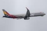 mototripさんが、福岡空港で撮影したアシアナ航空 A321-231の航空フォト(写真)