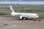 szkkjさんが、羽田空港で撮影した日本航空 767-346/ERの航空フォト(写真)