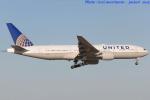 いおりさんが、成田国際空港で撮影したユナイテッド航空 777-222/ERの航空フォト(写真)