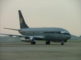 はみんぐばーどさんが、名古屋飛行場で撮影したスカイ・アヴィエーション 737-2W8/Advの航空フォト(飛行機 写真・画像)