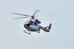 ヘリオスさんが、東京ヘリポートで撮影した朝日新聞社 MD 900/902の航空フォト(写真)