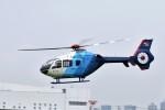 ヘリオスさんが、東京ヘリポートで撮影した中日新聞社 EC135P2の航空フォト(写真)