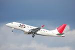 名古屋飛行場 - Nagoya Airport [NKM/RJNA]で撮影されたジェイ・エア - J-AIR [JLJ]の航空機写真
