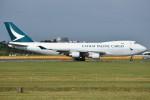 shimashimaさんが、成田国際空港で撮影したキャセイパシフィック航空 747-467F/ER/SCDの航空フォト(写真)