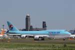 プルシアンブルーさんが、成田国際空港で撮影した大韓航空 747-8B5の航空フォト(写真)