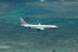 garrettさんが、石垣空港で撮影したチャイナエアライン 737-8MAの航空フォト(飛行機 写真・画像)