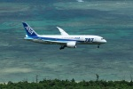 garrettさんが、新石垣空港で撮影した全日空 787-8 Dreamlinerの航空フォト(写真)