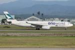 コギモニさんが、小松空港で撮影したキャセイパシフィック航空 A330-343Xの航空フォト(写真)