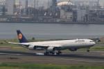 ☆ライダーさんが、羽田空港で撮影したルフトハンザドイツ航空 A340-642の航空フォト(写真)