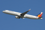 きんめいさんが、関西国際空港で撮影したフィリピン航空 A321-231の航空フォト(写真)