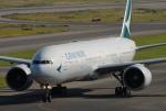 きんめいさんが、関西国際空港で撮影したキャセイパシフィック航空 777-367/ERの航空フォト(写真)