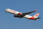 きんめいさんが、関西国際空港で撮影したエア・カナダ・ルージュ 767-33A/ERの航空フォト(写真)