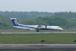 funi9280さんが、新千歳空港で撮影したANAウイングス DHC-8-402Q Dash 8の航空フォト(写真)